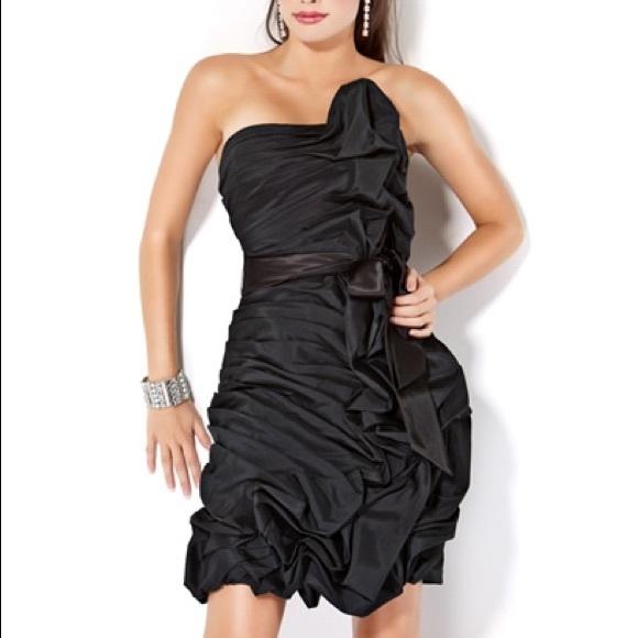 Jovani Dresses & Skirts - Jovani Short and Cocktail Pickup Ruffle Dress